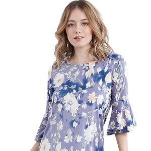 🇺🇸Doublju Ruffle Floral Shirt